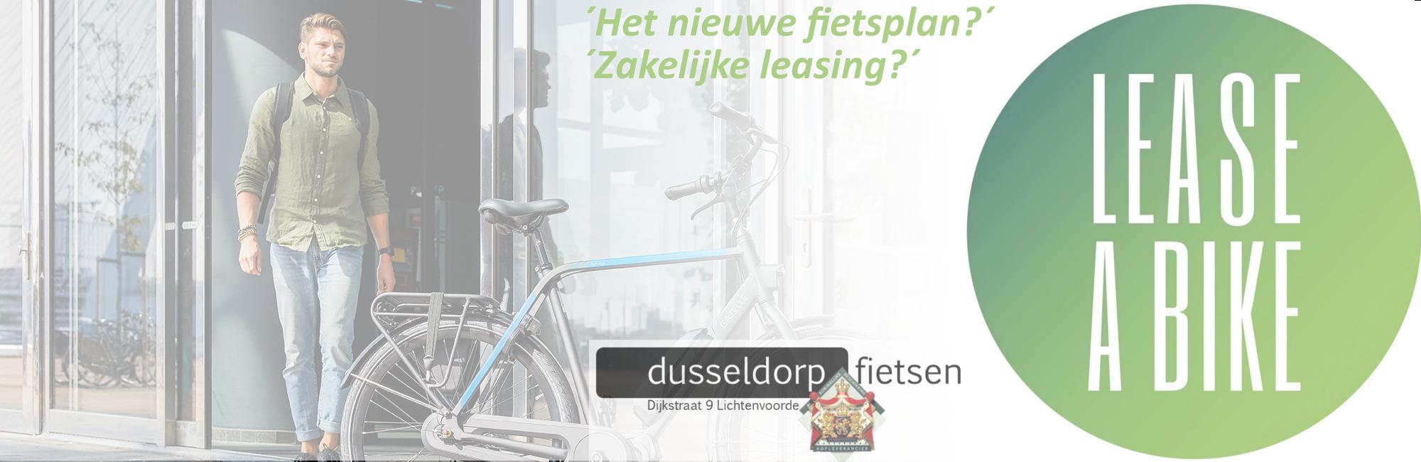 Lease-A-Bike! Bij Dusseldorp fietsen